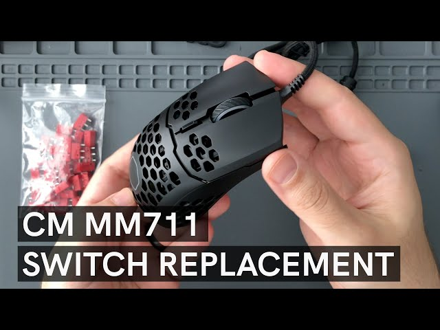 CM MM711 Switch Upgrade to Kailh GM 4.0