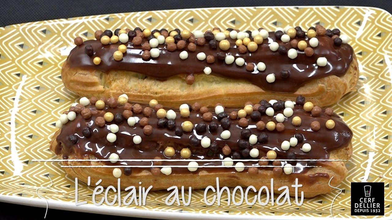 Eclairs au chocolat herve