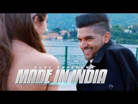 Guru Randhawa: MADE IN INDIA lyrics | Bhushan Kumar | DirectorGifty | Elnaaz Norouzi | Vee