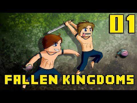 Fallen Kingdoms : Nouveautés à Gogo ! | Jour 01 - Minecraft