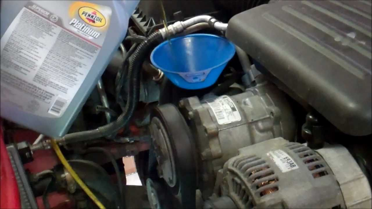 dodge ram 4.7 engine oil capacity