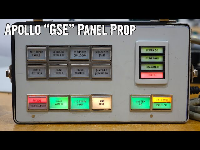 Apollo Ground Service Equipment Panel Prop