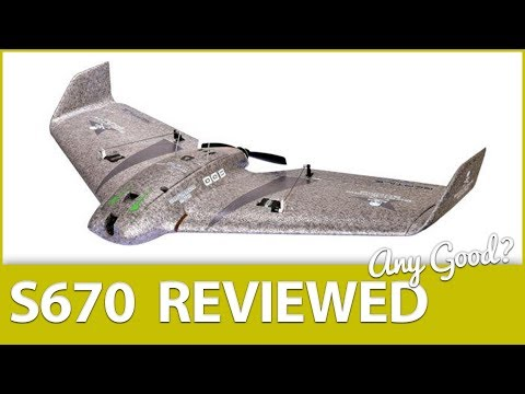 Is it Any Good? Reptile S670 FPV Flying Wing Review