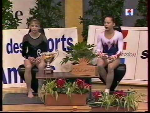 2001 Match FRA RUS Défis d'or (WAG MAG)