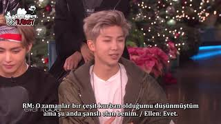 27.11.2017 Ellen Makes Friends with BTS (Türkçe Altyazılı)