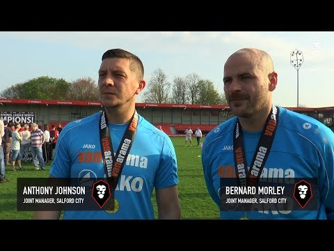 Thoughts from Anthony Johnson & Bernard Morley after being promoted to the National League!