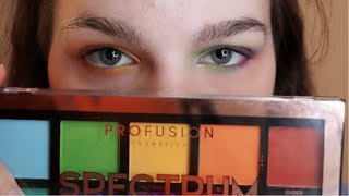 Testing the Profusion Spectrum Palette