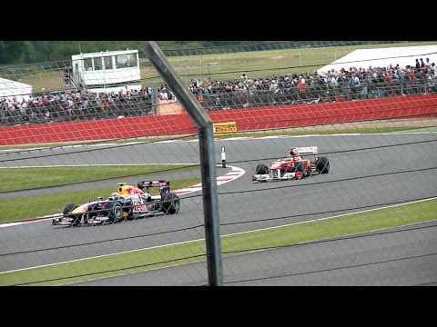 Formula 1 British Grand Prix 2011 - Hamilton Chasing Massa