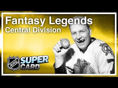 NHL SuperCard - Fantasy Legendaries #2: Central Division