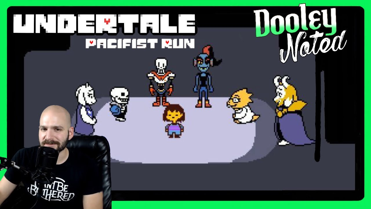 Give Me Pacifism Or Give Me A Stern Talking To More Undertale Recorded Aug 1 2019 Youtube