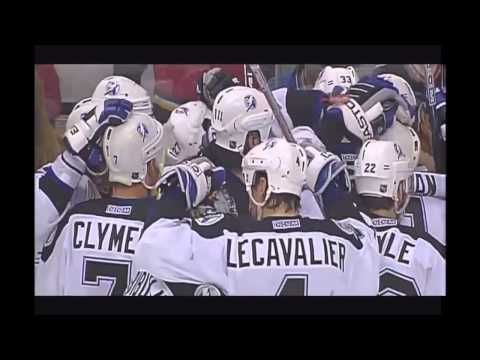 Martin St. Louis 2OT Goal Game 6 2004 Stanley Cup Finals
