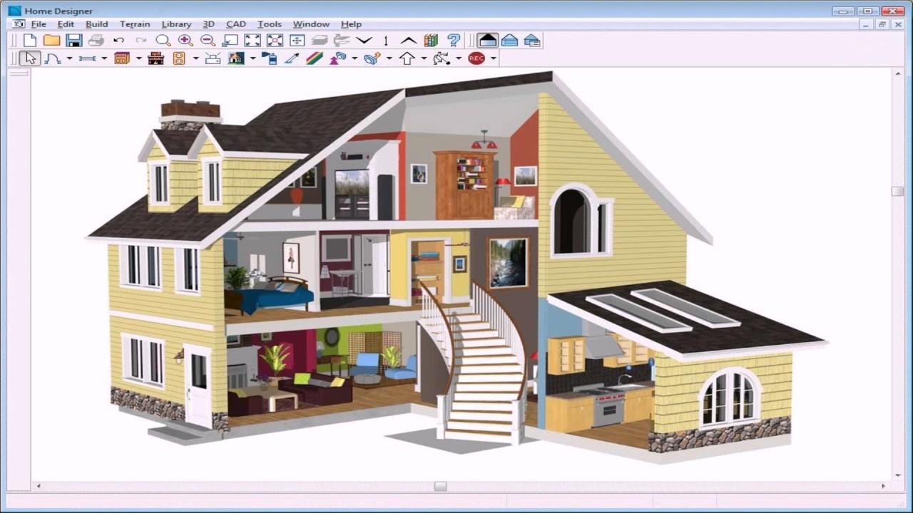 Home Design 3d Expert Software - YouTube