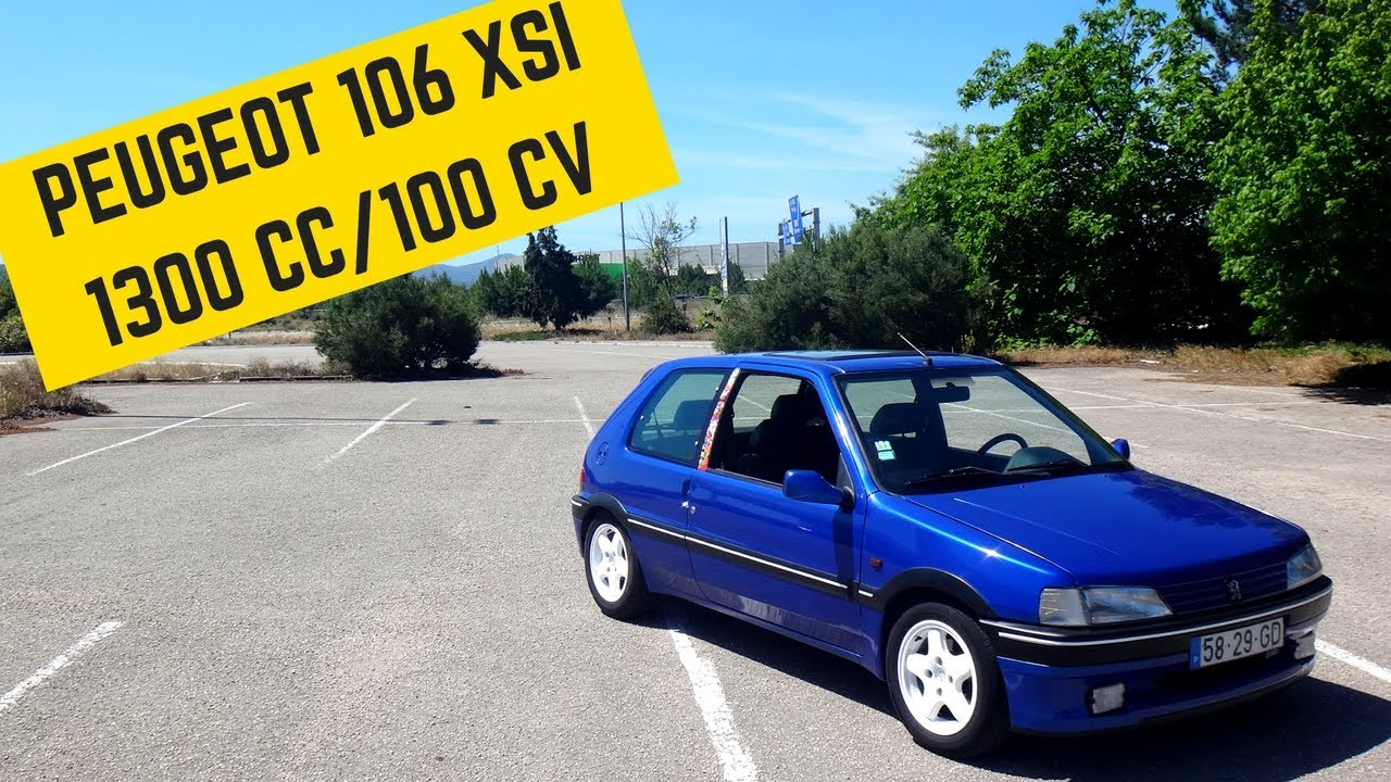 peugeot 106 1 3 xsi portugal stock and modified car reviews youtube. Black Bedroom Furniture Sets. Home Design Ideas