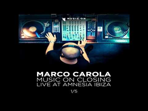 Marco Carola @ AMNESIA ◢Music On◣ Closing 28-09-12 Part #1/5