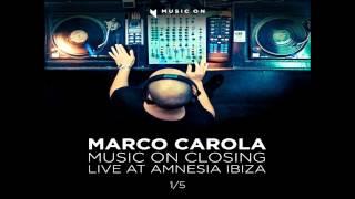 Marco Carola @ AMNESIA ◢Music On◣ Closing 28-09-12 Part #1/5