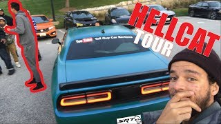 TALL GUY CAR REVIEWS SRT HELLCAT MEET
