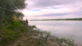 рыбалка на диких берегах открытие Кокжиде 2020 река Или