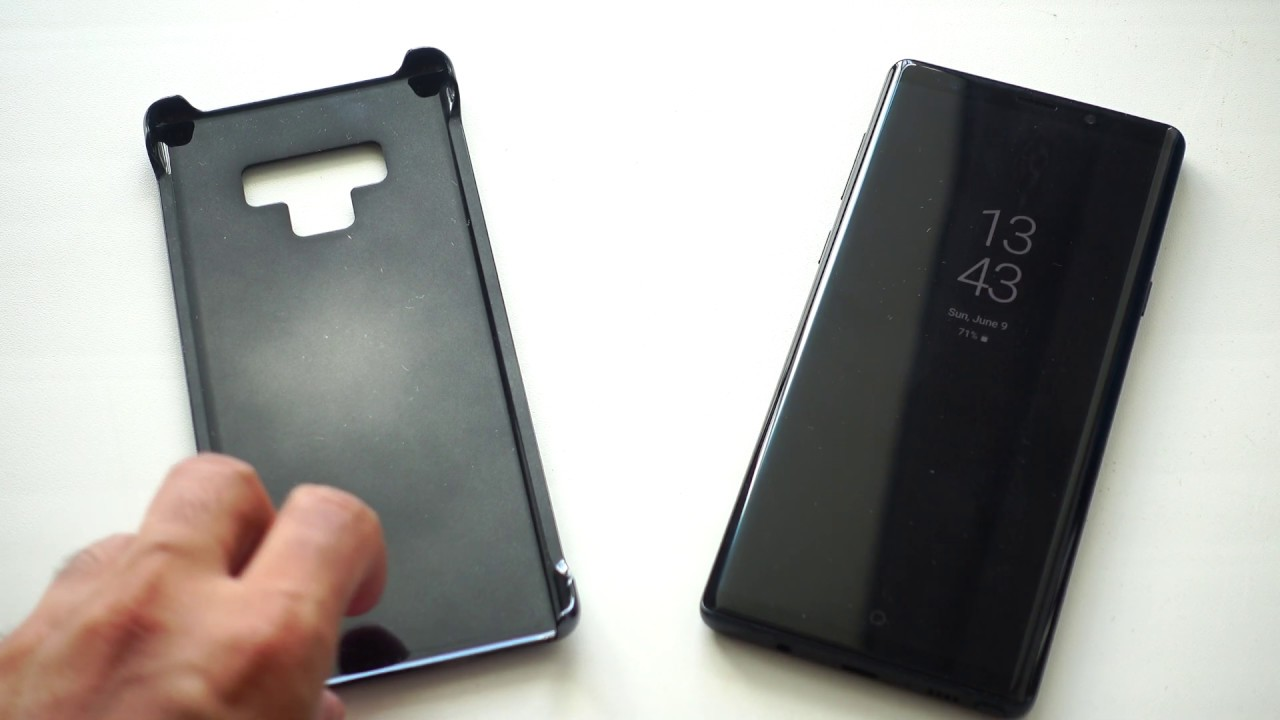new styles 2f39f f762c How to simply use Montblanc Hard Case for Galaxy Note9