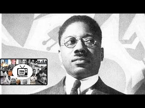 Harlem Renaissance, 1930s Rare Footage of Aaron Douglas, Augusta Savage, Richmond Barthe.