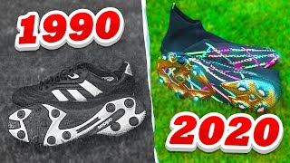 USING OLD SCHOOL VS NEW SCHOOL FOOTBALL BOOTS