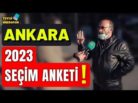 Ankara SEÇMENİ Konuşuyor ! 2023 Seçimine Doğru HALKIN GERÇEK Görüşleri...