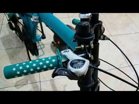 Sepeda Drag Stang Jepit Youtube