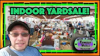 A Couple Big Yard Sales! What will we find?  VLOGUST