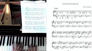 "Studnitzky | KY - ""Korona Solitude #1 for piano"""