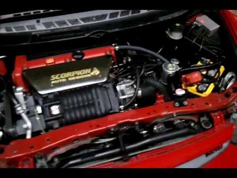 Scorpion Auto Designs Supercharged 2007 Honda Civic Si Part 1