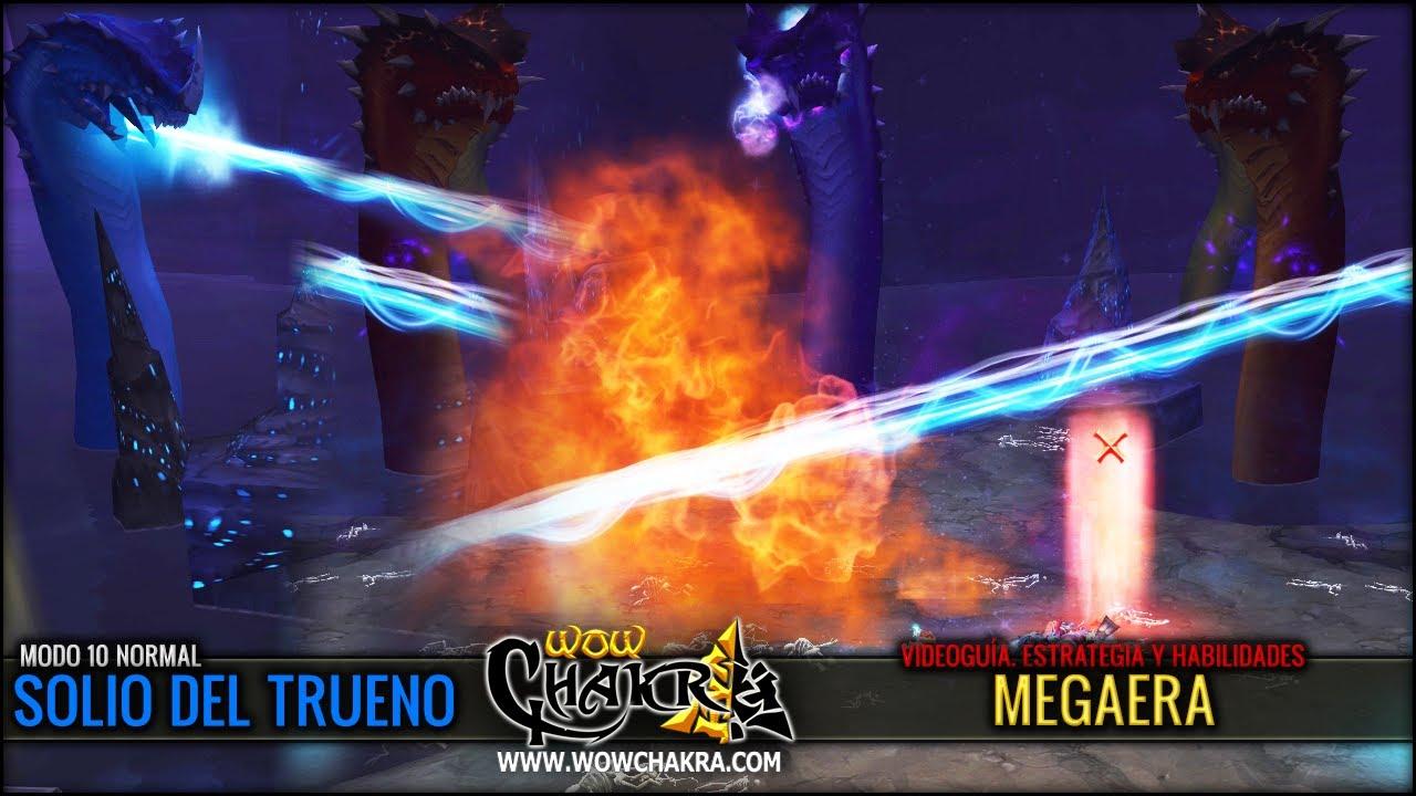 Mists of Pandaria 5.2 - Videoguía de asalto Megaera 10 Normal