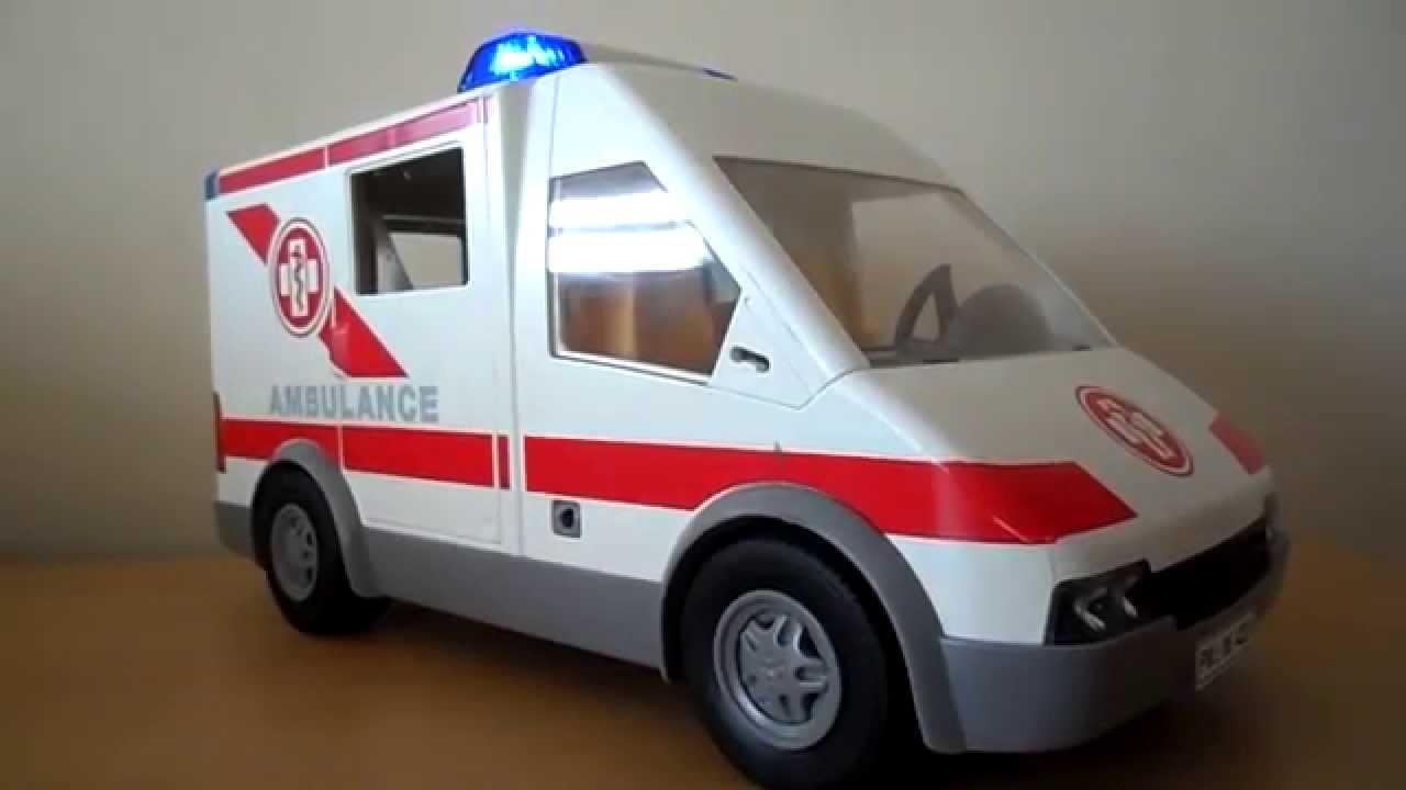 overview of playmobil vintage ambulance toy youtube. Black Bedroom Furniture Sets. Home Design Ideas