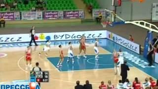 Баскетбол. ЧЕ 2011. Беларусь - Израиль