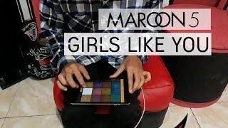 Download Lagu MAROON 5 : GIRLS LIKE YOU ft. CARDI B REMIX DRUM PADS 24 Mp3