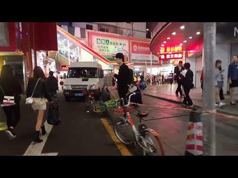 帶妳逛 中國 深圳 老街 2 4k Shenzhen, China Street 深セン、中国の通り 심천, 중국 거리