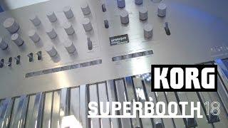 Korg Prologue - аналоговый синтезатор (Superbooth18)