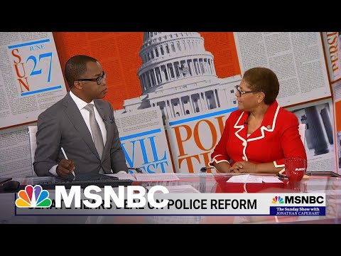 Rep. Karen Bass Explains Why Passing Police Reform Is Essential