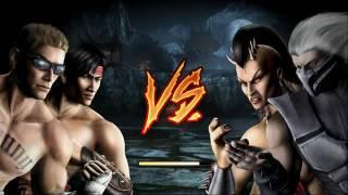 Mortal Kombat 9 Tag Team Ladder Liu Kang And Johnny Cage Expert (No rounds,matches lost;no block)