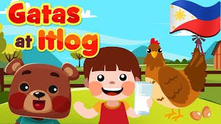 Gatas at Itlog in Filipino | Philippines Kids Nursery Rhymes & Songs | Awiting Pambata