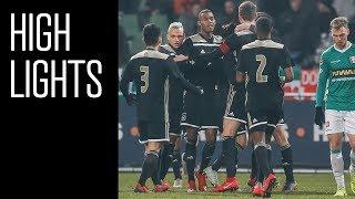 Highlights FC Dordrecht - Jong Ajax