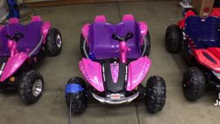 Crazy Steering Angle! 🏎 Power Wheels Mod