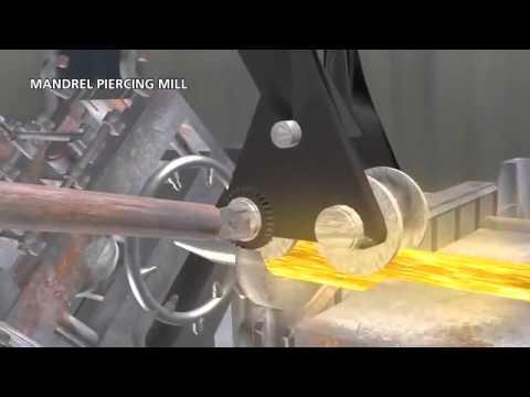 Технология производства труб стальных бесшовных горячедеформированных