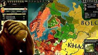Школьникам не смотреть! Раздел страны и война за ТРОН! - Crusader Kings 2 #10