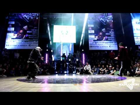 Roni vs GHOST Ponka - Hip Hop 1/8 Adults | Explosion Battle 2016 | Cherkassy, Ukraine from YouTube · Duration:  2 minutes 25 seconds