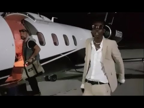 Chi Ching Ching & Sean Paul PRIVATE JET