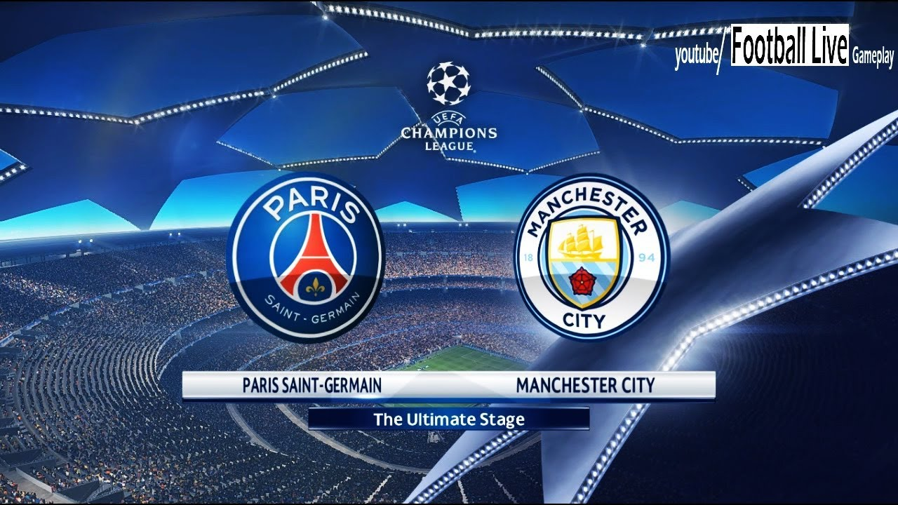 PES 2018 | Paris Saint Germain [PSG] Vs Manchester City | UEFA Champions  League (UCL) | Gameplay PC - YouTube