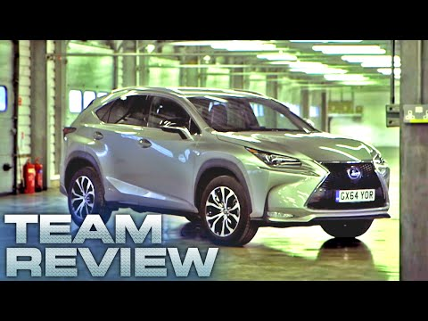 The Lexus NX 300h Team Review Fifth Gear