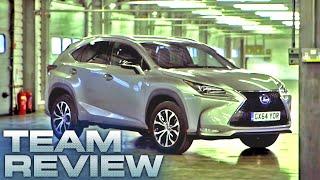The Lexus NX 300h Team Review Fifth Gear