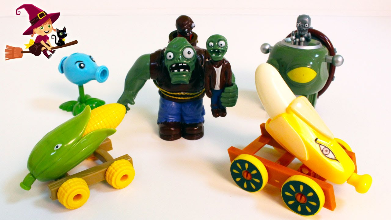 Plants Vs Zombies Juguetes Para Halloween Youtube