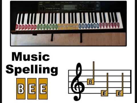 music spelling bee 25 36video