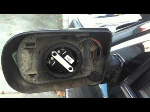 Bmw E38 E39 Power Folding Mirror Repair Youtube